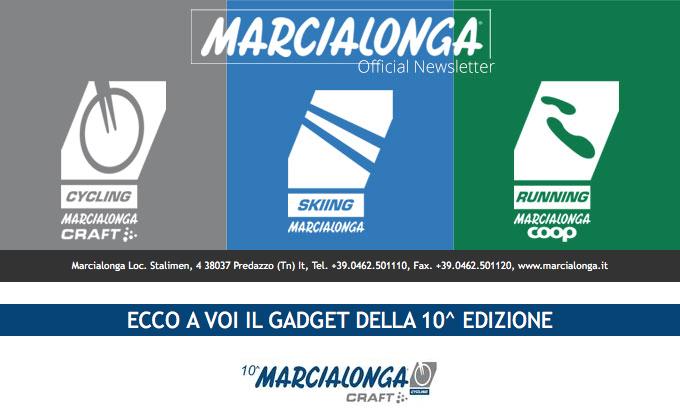 Decima Marcialonga Cycling - Un Gadget Speciale