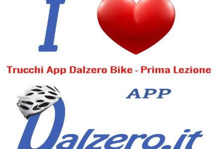 Trucchi APP Ciclismo prima lezione