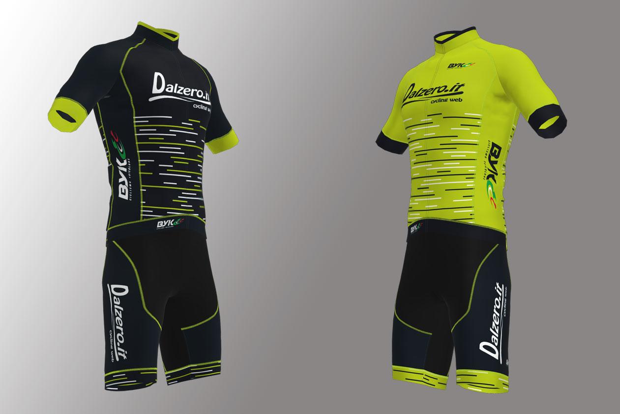 Divise Ciclismo - Ecco le nuove grafiche Dalzero.it